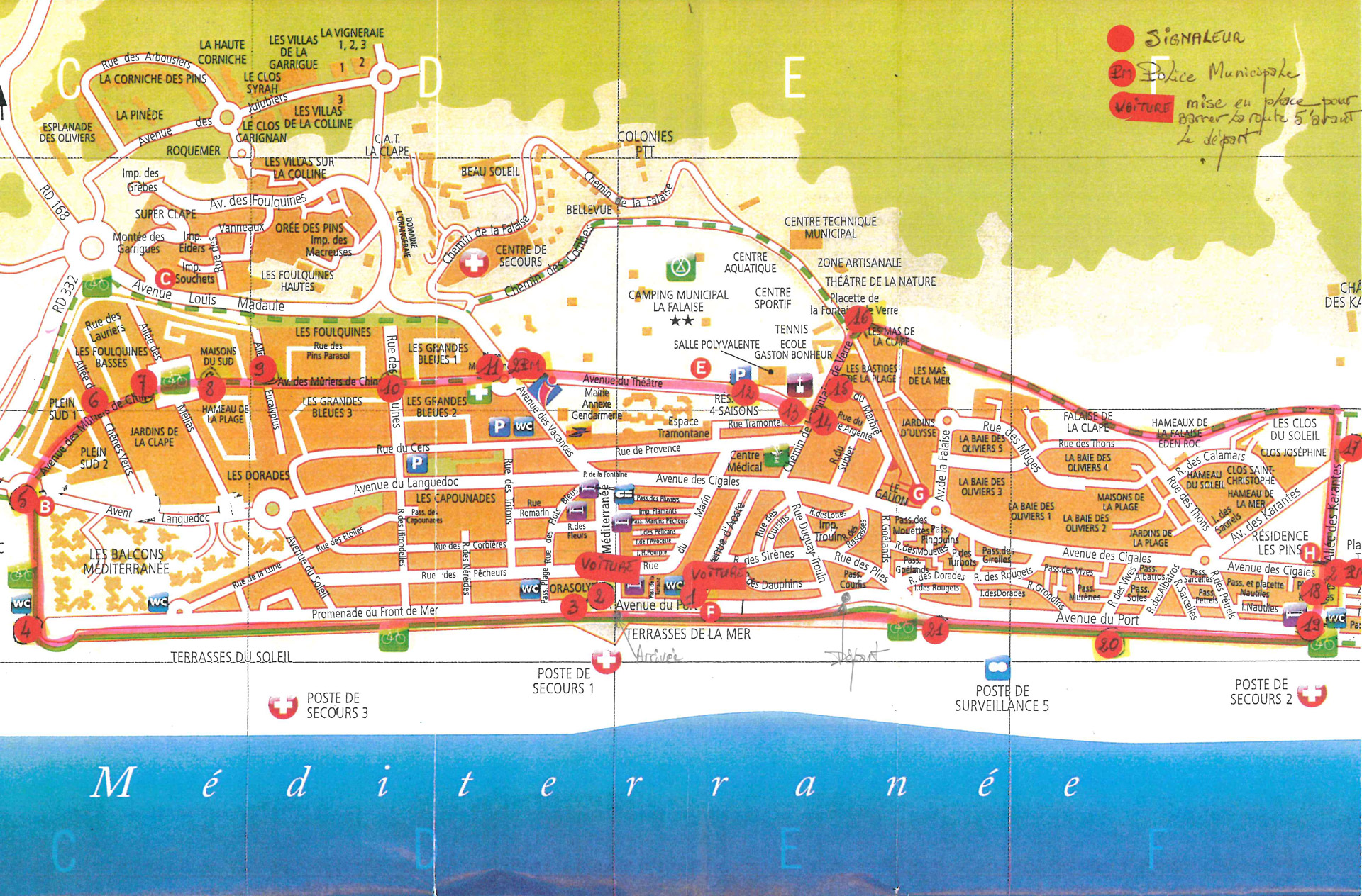 Les 10km de l'Hexagone - Narbonne plage